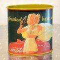 TINボックス コカコーラ Coca-Cola(リフレッシュド ハブアコーク)