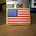 ワッペン アメリカ国旗(星条旗/スタンダード) *メール便可