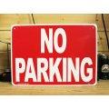 看板/プラサインボード 駐車禁止 No Parking