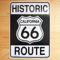 看板/プラサインボード ヒストリックルート66 Historic Route 66