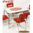 他の写真1: [送料無料] ダイナーテーブル コカコーラ Coca-Cola 机