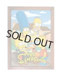 アメリカンレトロポスター(額入り) シンプソンズ Simpsons