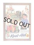 アメリカンレトロポスター(額入り) クールエイド Kool-Aid