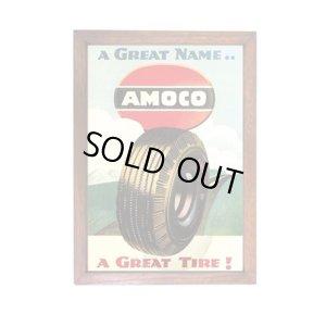 画像1: アメリカンレトロポスター(額入り) アモコオイル Amoco