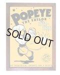 アメリカンレトロポスター(額入り) ポパイ Popeye