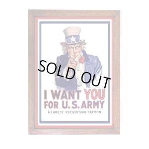 画像1: アメリカンレトロポスター(額入り) アンクル・サム Uncle Sam
