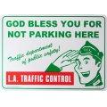看板/プラサインボード ロサンゼルス交通規制 L.A.Traffic Control