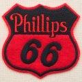 ロゴワッペン フィリップス66 Phillips66 *メール便可