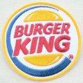 ロゴワッペン バーガーキング Burger King(ラウンド) *メール便可