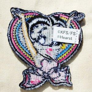 画像3: ワッペン ベティブープ Betty Boop(ハート&リボン)*メール便可
