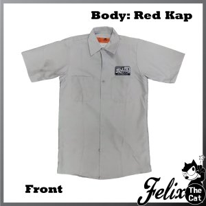 画像3: Felix UCC Work Shirt Silver/フィリックス UCC ワークシャツ シルバー/Wing/ウイング