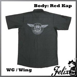 画像1: Felix UCC Work Shirt Black/フィリックス UCC ワークシャツ ブラック/Wing/ウイング