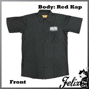 画像3: Felix UCC Work Shirt Black/フィリックス UCC ワークシャツ ブラック/Head Light/ヘッドライト