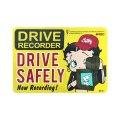 Sign Sticker/サインステッカー/DRIVE SAFELY/ドライブレコーダー搭載