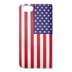 画像2: FLIP CASE/USA FLAG/フリップケース/アメリカ国旗(iPhone7/8)