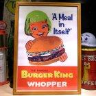 他の写真1: アメリカンレトロポスター(額入り) バーガーキング Burger King