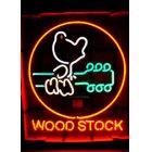 他の写真2: [送料無料] ネオンサイン Wood Stock ウッドストック