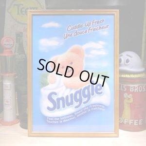 画像1: アメリカンレトロポスター(額入り) スナッグル Snuggle