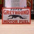 ロゴワッペン グレイハウンド Greyhound 犬 *メール便可