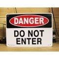 看板/プラサインボード 危険立ち入り禁止 Danger Do Not Enter