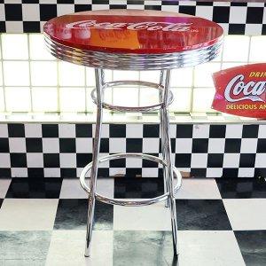 画像1: [送料無料] ハイテーブル コカコーラ Coca-Cola 机