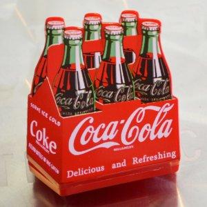 磁石/マグネットクリップ コカコーラ Coca-Cola(ボトルパック)