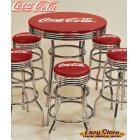 他の写真1: [送料無料] ハイテーブル コカコーラ Coca-Cola 机