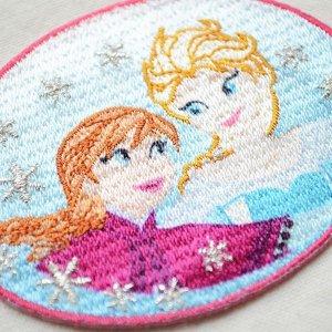 画像2: ワッペン ディズニー アナと雪の女王 (アナ&エルサ) * メール便可  [MY5502-MY349]