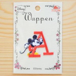 画像4: アルファベットワッペン ディズニー ミニーマウス Y レッド *メール便可