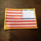 他の写真2: ワッペン アメリカ国旗(星条旗/スタンダード) *メール便可