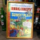 他の写真1: アメリカンレトロポスター(額入り) ビッグボーイ Big Boy