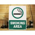 看板/プラサインボード 喫煙場所 Smoking Area