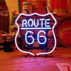 他の写真1: [送料無料] ネオンサイン Route66 ルート66 アメリカン