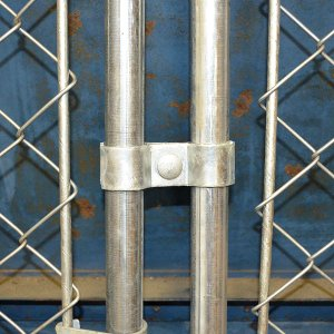 画像2: カリフォルニアフェンス専用クランプ(2個セット)
