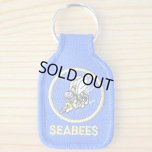 画像1: ミリタリーキーリング シービーズ Seabees *メール便可