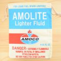 アメリカンロゴ巾着袋(L) アモコオイル Amoco *メール便可
