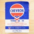 アメリカンロゴ巾着袋(L) シェブロンオイル Chevron Oil *メール便可
