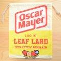 アメリカンロゴ巾着袋(L) オスカーメイヤー Oscar Mayer *メール便可
