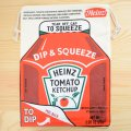 アメリカンロゴ巾着袋(L) ハインツケチャップ Heinz *メール便可