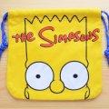 アメリカンキャラ巾着袋(S) シンプソンズ Simpsons *メール便可