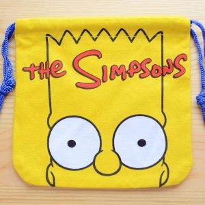 画像1: アメリカンキャラ巾着袋(S) シンプソンズ Simpsons *メール便可