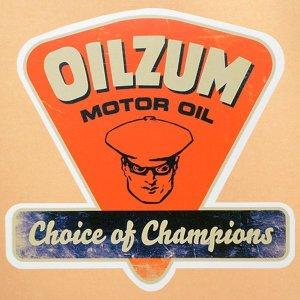 画像1: ガレージステッカー Oilzum オイルザム シール アメリカン *メール便可