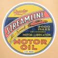 ガレージステッカー Streamline ストリームライン シール アメリカン *メール便可