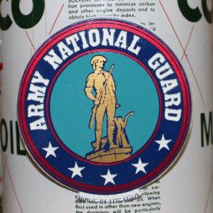 画像1: 磁石 ARMY NATIONAL GUARD マグネット アーミー州兵(軍) *メール便可