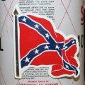 磁石 REBEL CONFED FLAG WAVY マグネット *メール便可