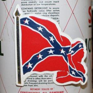 画像1: 磁石 REBEL CONFED FLAG WAVY マグネット *メール便可
