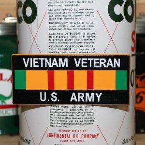 画像1: 磁石 VIETNAM VETERAN U.S. ARMY マグネット ユーエスアーミー *メール便可