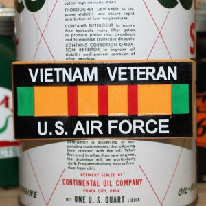 画像1: 磁石 VIETNAM VETERAN U.S. AIR FORCE マグネット ユーエスエアフォース *メール便可