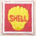 ロゴワッペン Shell シェル スクエア *メール便可