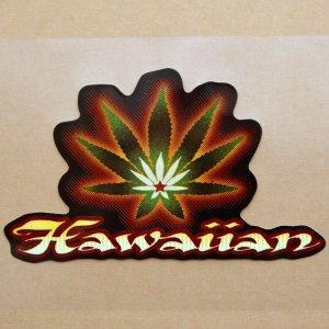画像1: ハワイアンステッカー/シール ナルブルー(ヘンプ) *メール便可